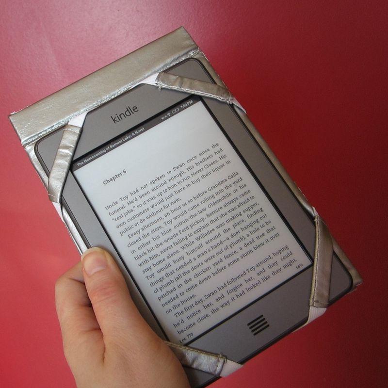 Kindle case open