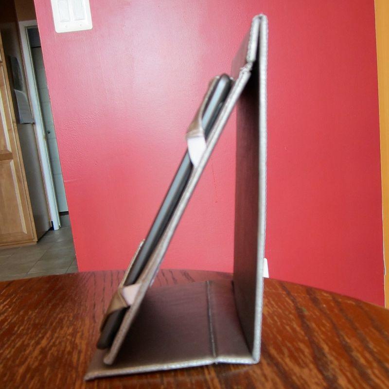 Kindle case standing side