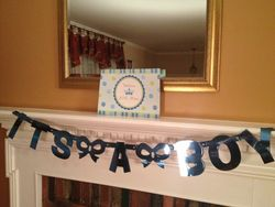 BabyShowerMantle