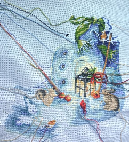 Snowmanstocking8-15-14