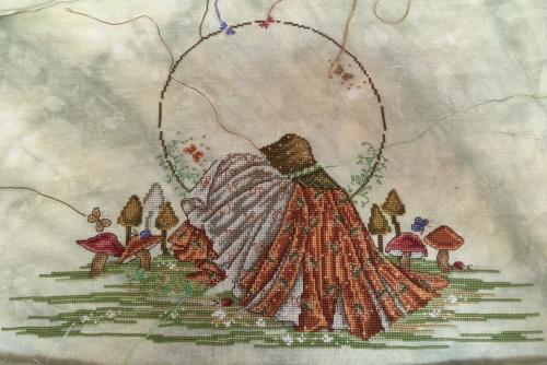 Earth goddess wip 10-15-16