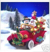 Bucilla vintage santa car