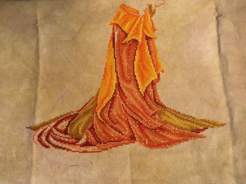 Fire Goddess WIP 4-7-17
