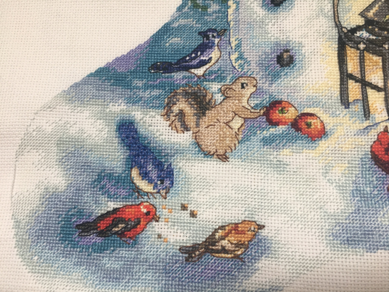 Snowman Stocking HD-detail 3