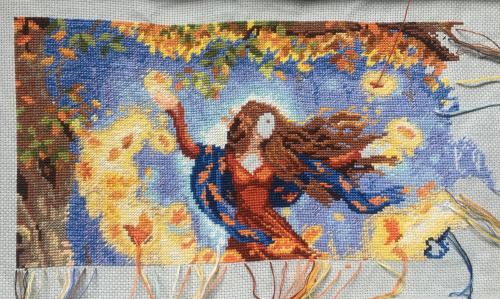 Fall Fairy WIP 8-7-17