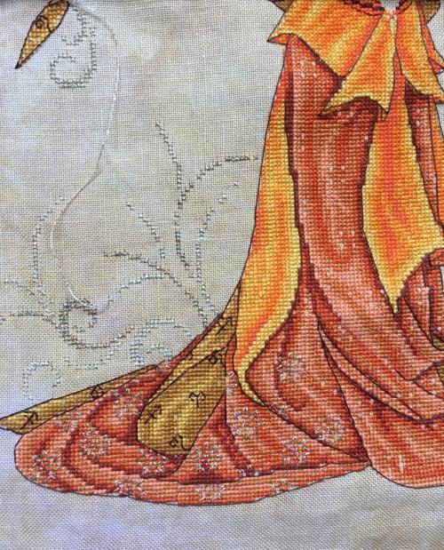 Fire goddess WIP 7-26-17