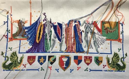 King Arthur WIP 7-26-17