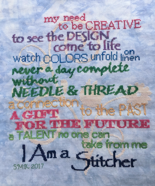 OhSewCrafty: Stitching HD: I am a Stitcher