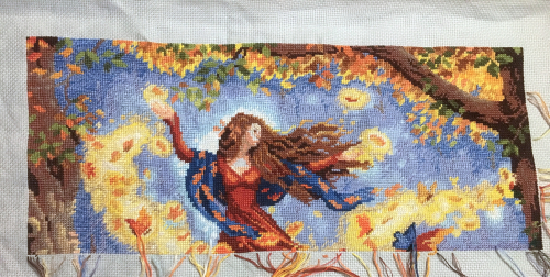 Fall Fairy WIP 10-27-17