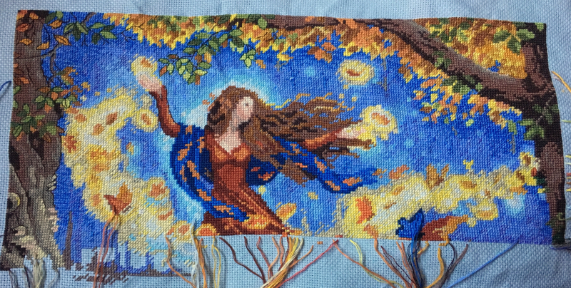 Fall Fairy WIP 11-20-17