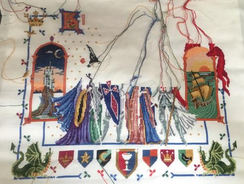 King Arthur WIP 12-31-17