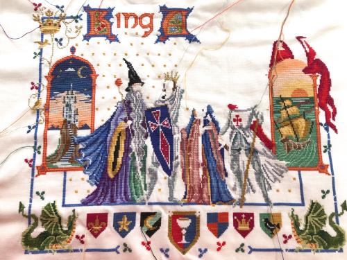 King Arthur WIP 1-25-18