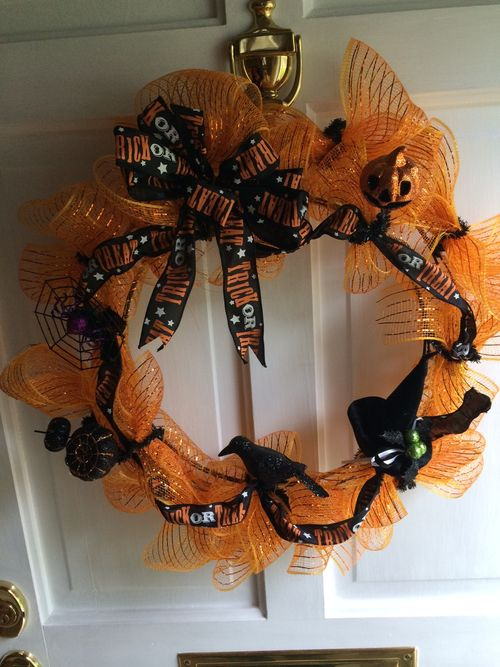 H'ween wreath 2014