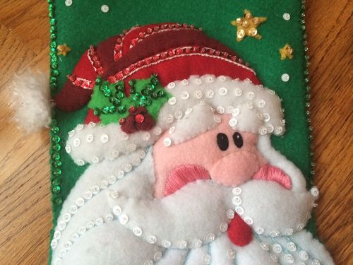 SequinedSantaStocking detail 11-1-14