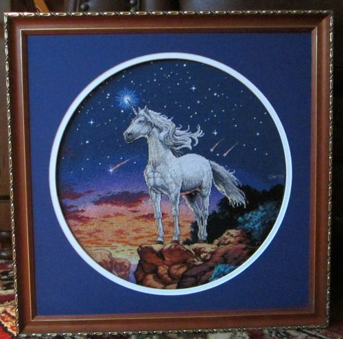 Unicornmystiqueframed