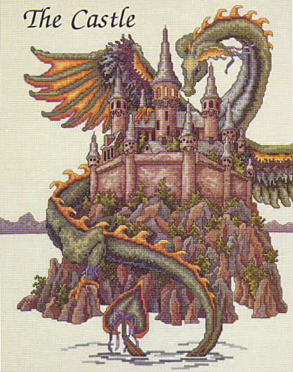 TW-the castle-model
