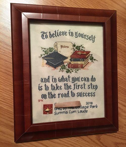 Graduate-framed