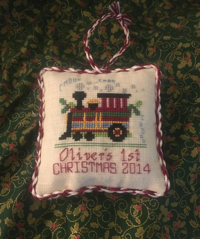 Train Ornament HD