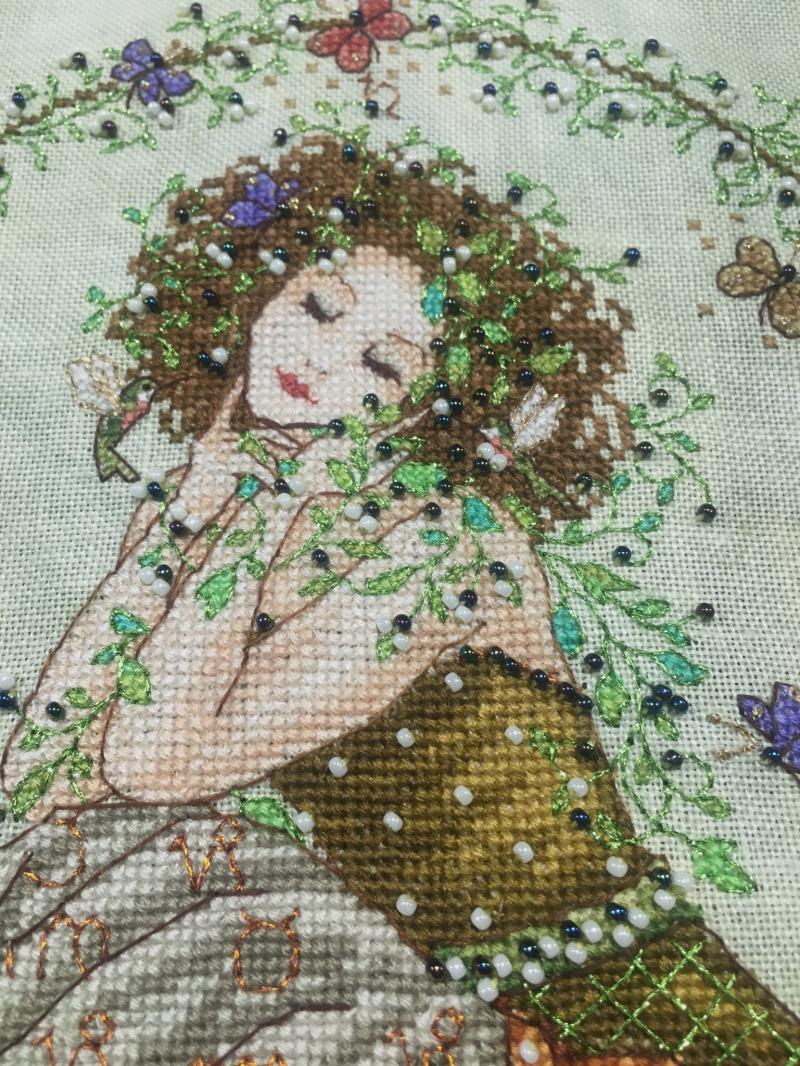 Earth Goddess HD bodice detail