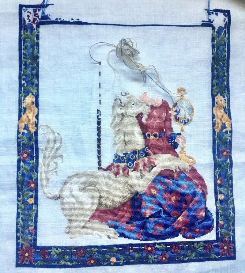 Maiden Unicorn WIP 3-4-17