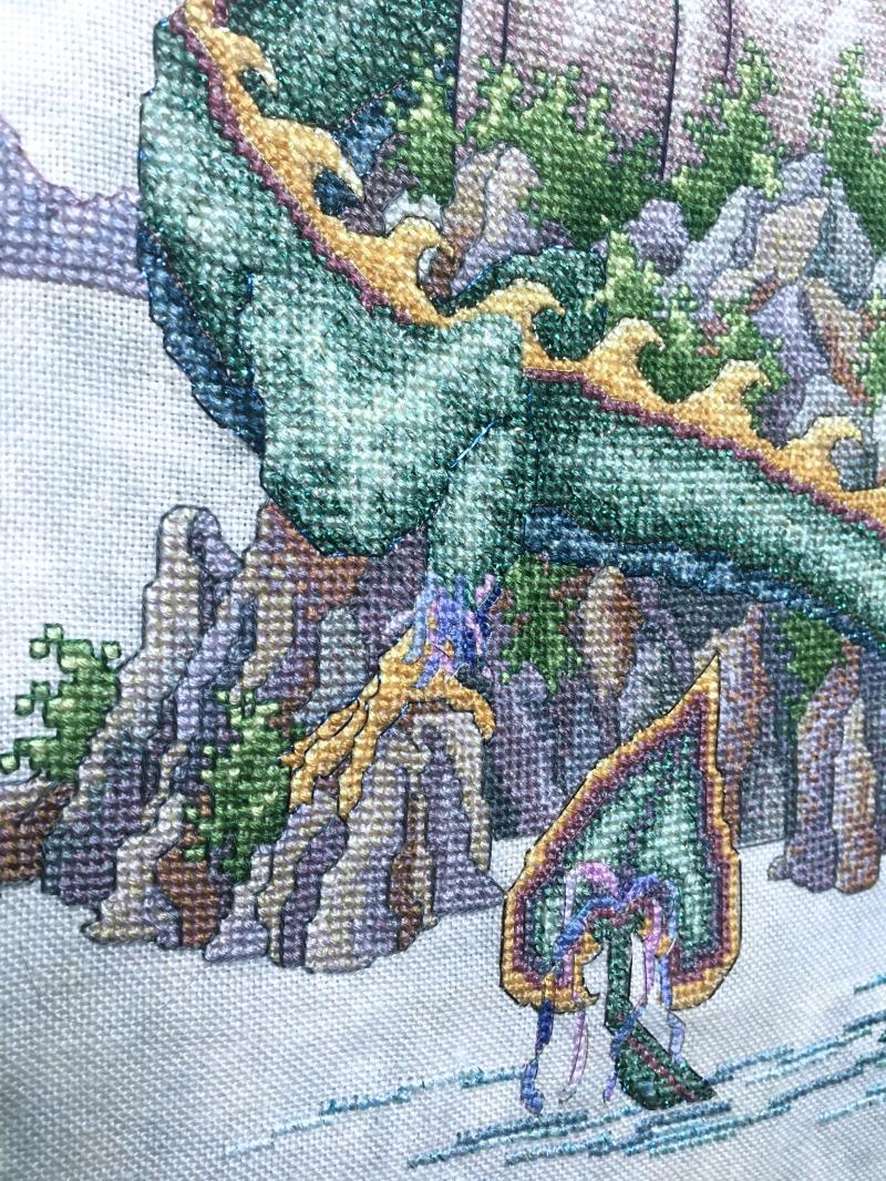 TW-Castle HD tail detail