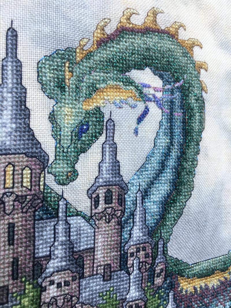 TW-Castle HD dragon detail