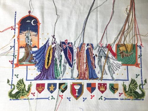 King Arthur WIP 10-27-17