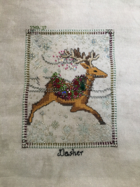 Dasher HD with fabric