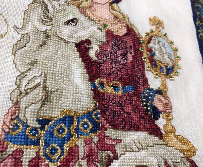 Maiden Uni HD-unicorn detail