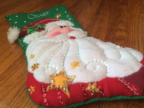 SequinedSantaStocking sparkle 11-1-14