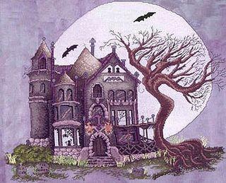 Spooky house-model