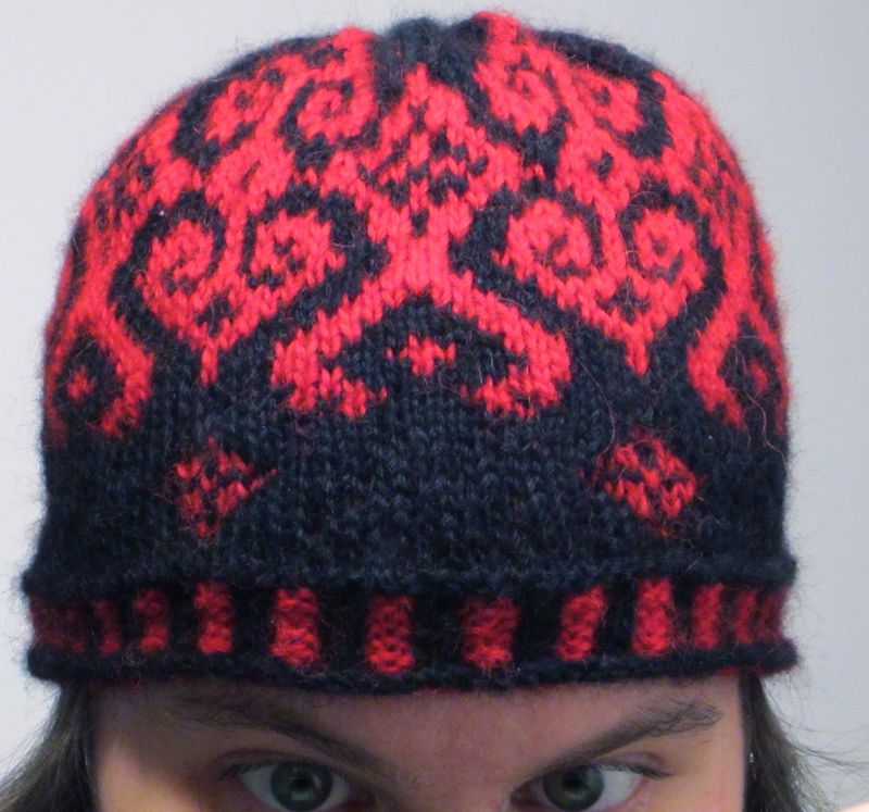 Frost tapestry hat