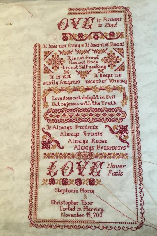 Love L wip 9-27-16
