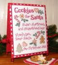 Cookies for santa model
