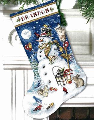 Snowman-stocking-model