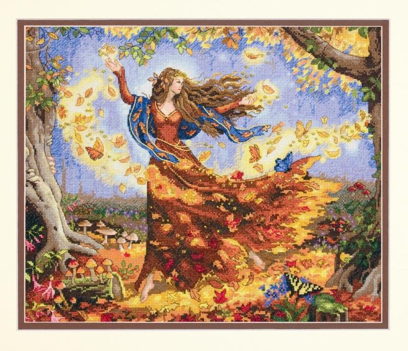 Fall fairy-model
