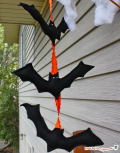 Bat butning-made by marzipan
