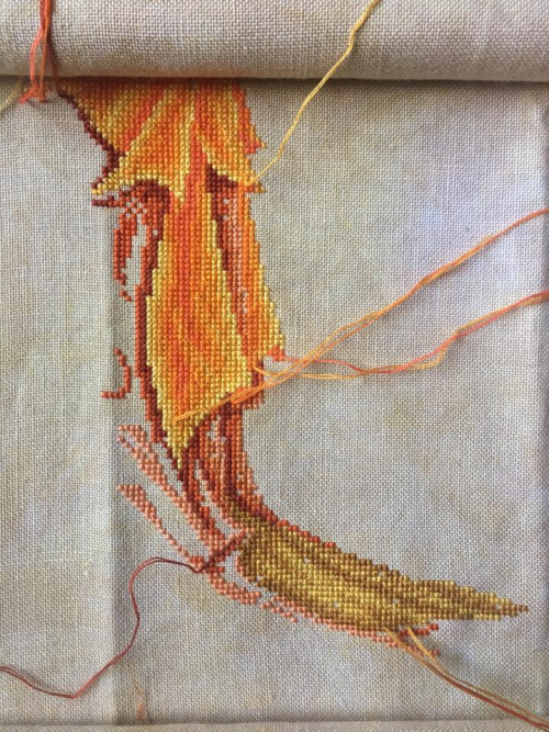 Fire Goddess wip 3-15-17