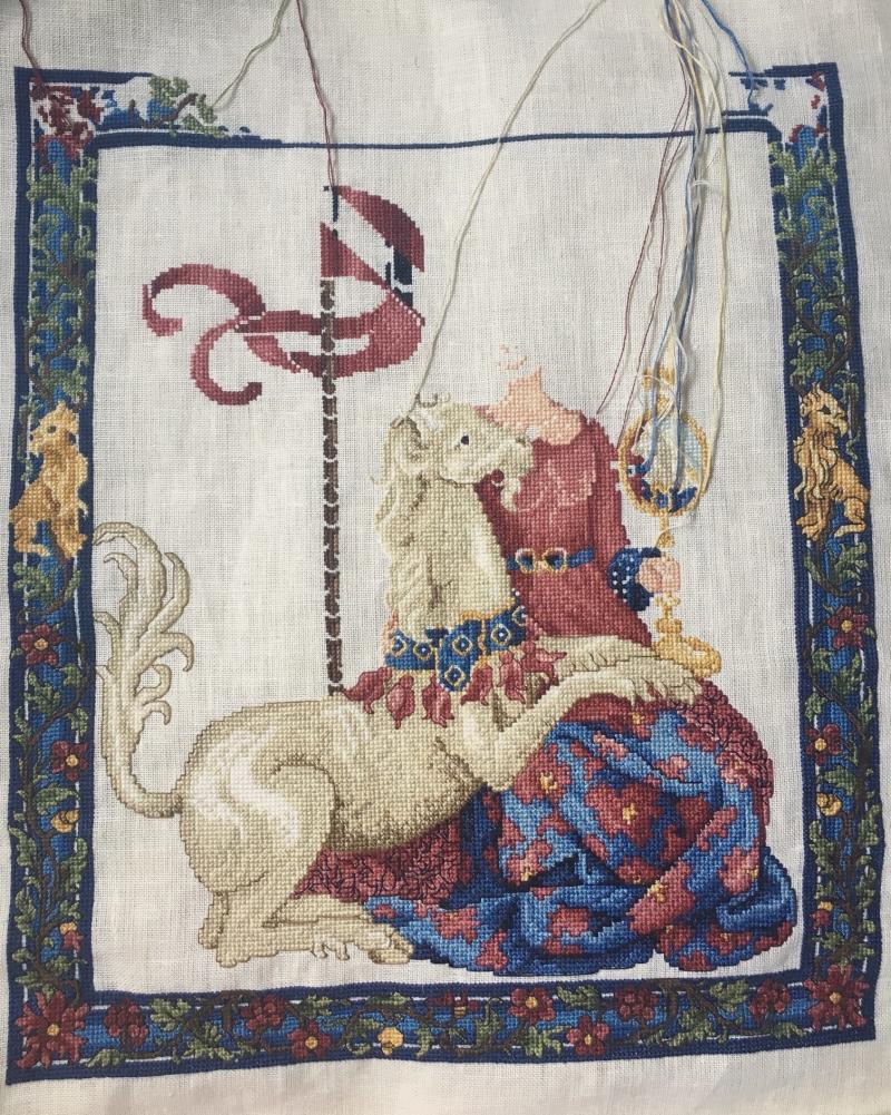 Maiden unicorn wip 6-25-17