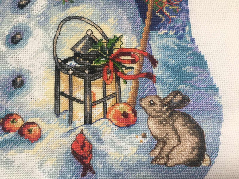 Snowman Stocking HD-detail 2