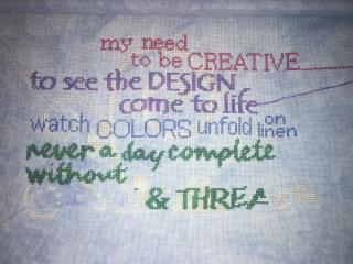 I-am-a-stitcher wip 6-1-17