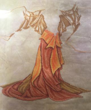 Fire Goddess WIP 7-27-16
