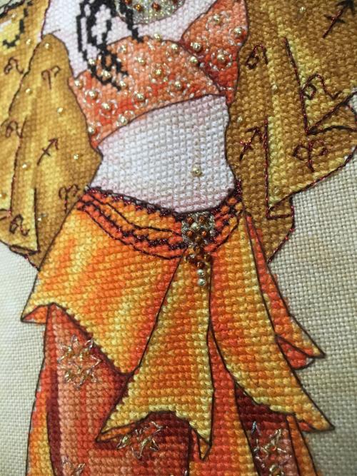 Fire Goddess HD-belly detail