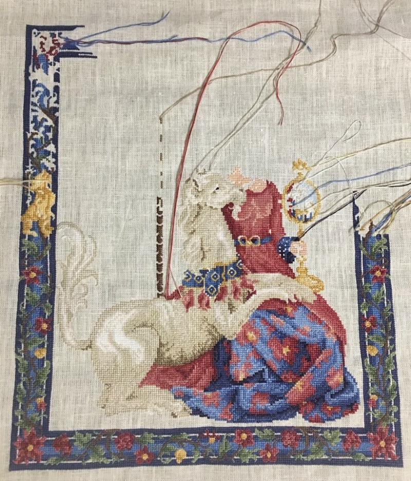 Maiden unicorn wip 11-30-16