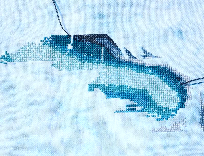 Enchanted Mermaid WIP 11-28-17