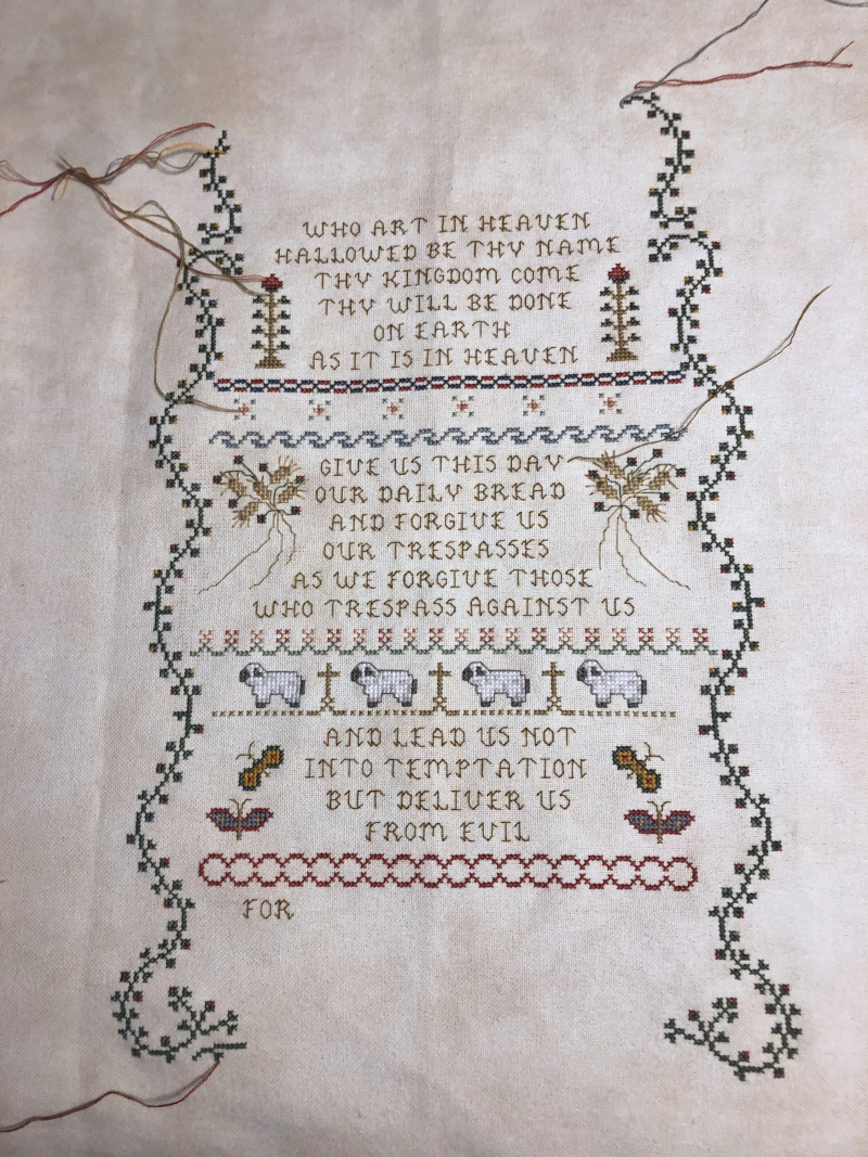Lord's Prayer WIP 4-5-18