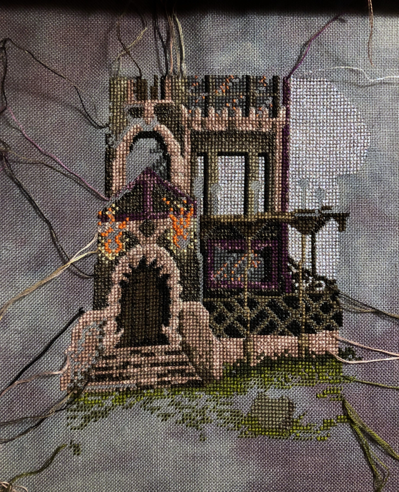 Spooky House WIP 4-15-18