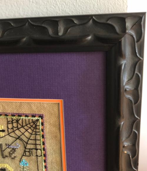 Toil Trouble framed-detail