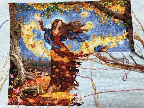 Fall Fairy WIP 8-10-18