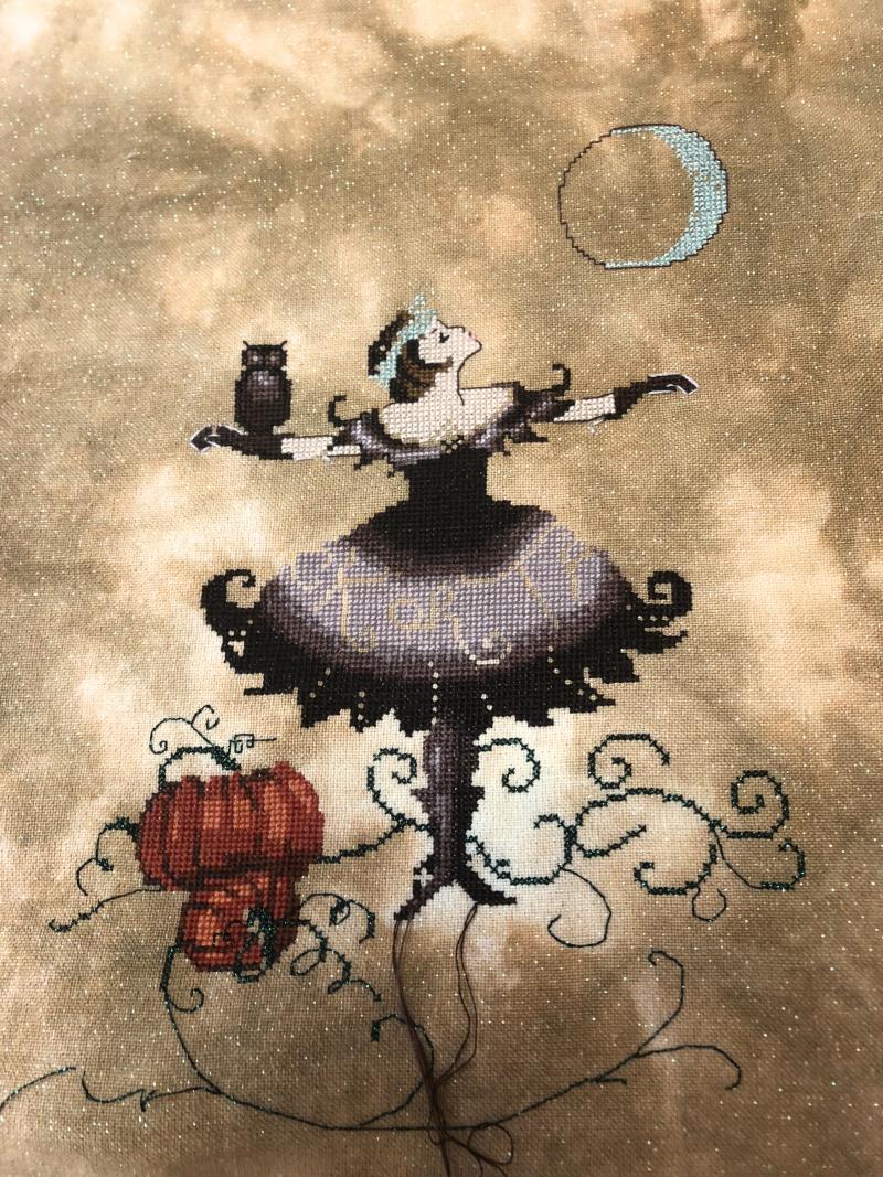 Halloween Fairy WIP 6-24-18